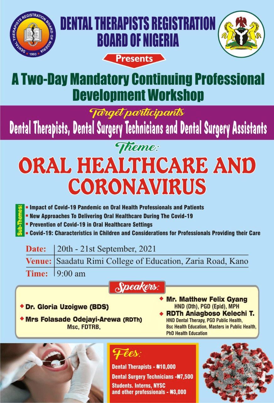 Oral Health Care & Covid